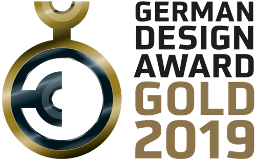 German Design Award Gold 2019